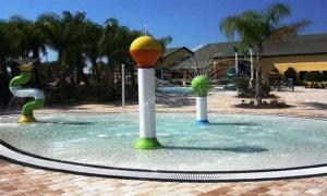 Paradise Palms Four Bedroom House 208, Nyaralók  Kissimmee - big - 9