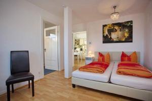 Ferienwohnung-mit-Weitblick, Apartmanok  Lübeck - big - 14