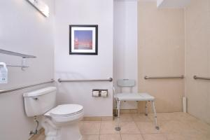 Double Room with Two Double Beds and Roll-In Shower - Disability Access