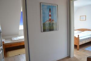 Landhaus-am-Deich-Wohnung-Moewe, Apartmány  Tönning - big - 14