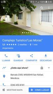 Complejo Cabañas Las Moras, Apartments  San Rafael - big - 21
