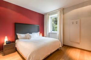 Villa Mughetto, Apartmanhotelek  Gardone Riviera - big - 8