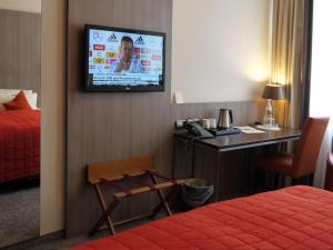 Dvoulůžkový pokoj typu Classic s manželskou postelí