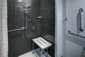 Accessible King Room With Roll in Shower
