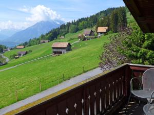 Chalet Papillon, Holiday homes  Schwanden - big - 21