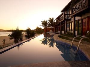 Chez Pitu Praia Hotel, Отели  Бузиус - big - 59
