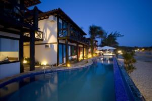 Chez Pitu Praia Hotel, Отели  Бузиус - big - 71
