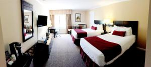 Economy Double Room with Two Double Beds