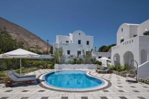 Felicity Villaları Santorini Lüks Evi (Kamari)