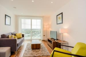 Native Canary Wharf, Apartmány  Londýn - big - 13