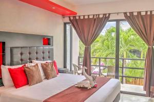 Paradise in Tulum - Villas la Veleta - V2, Prázdninové domy  Tulum - big - 16
