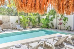 Paradise in Tulum - Villas la Veleta - V2, Ferienhäuser  Tulum - big - 63