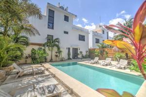 Paradise in Tulum - Villas la Veleta - V2, Ferienhäuser  Tulum - big - 14