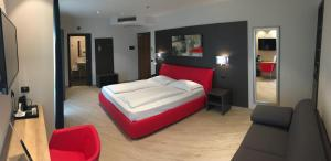 Hotel Villa Rosa, Hotely  Nago-Torbole - big - 37