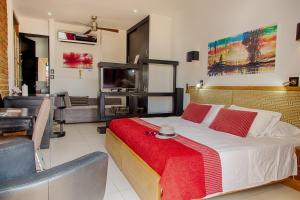 Hotel Boutique Casa Carolina, Hotels  Santa Marta - big - 36