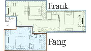 Frank & Fang Apartments, Ferienwohnungen  Budapest - big - 41