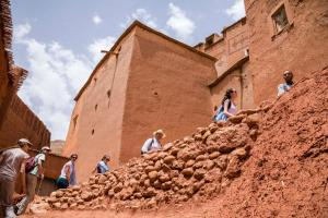 Kasbah Dar Daif, Bed and breakfasts  Ouarzazate - big - 108