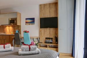 Aparthotel Marina Jastarnia, Aparthotely  Jastarnia - big - 18