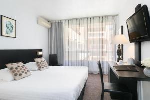 Quality Hotel Menton Méditerranée, Отели  Ментон - big - 12