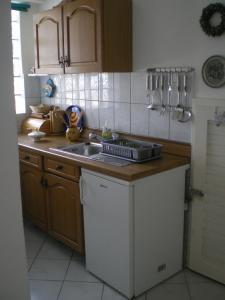 Vila Skocidjevojka, Apartmanok  Petrovac na Moru - big - 9