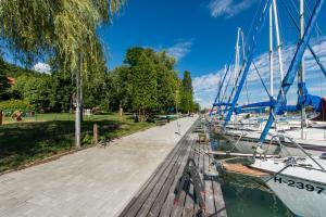 2 hvězdičkový hotel Tihany Yacht Club Tihany Maďarsko
