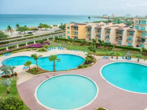 View Garden Two-bedroom condo - A145, Ferienwohnungen  Palm-Eagle Beach - big - 21
