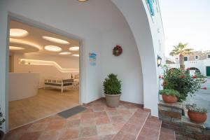 Spiros, Apartmanhotelek  Náxosz - big - 202