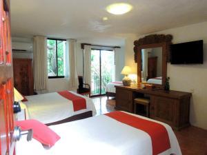 Hotel Meson del Marques, Hotels  Valladolid - big - 35