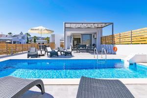 Blue Oyster Villas, Виллы  Платанес - big - 25