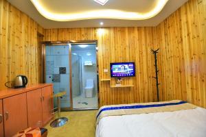 Zhaoxiahong Art hotel, Проживание в семье  Wujiaqiao - big - 184