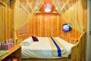 Zhaoxiahong Art hotel, Проживание в семье  Wujiaqiao - big - 166