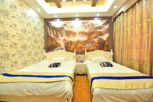 Zhaoxiahong Art hotel, Проживание в семье  Wujiaqiao - big - 160