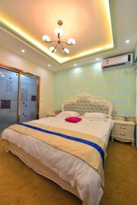 Zhaoxiahong Art hotel, Проживание в семье  Wujiaqiao - big - 158