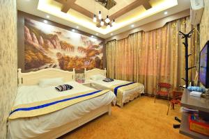 Zhaoxiahong Art hotel, Проживание в семье  Wujiaqiao - big - 157