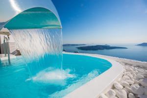 Schickes Hotel Santorini (Firostefani)