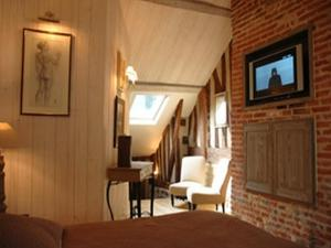 Au Grey d'Honfleur, Bed & Breakfasts  Honfleur - big - 14