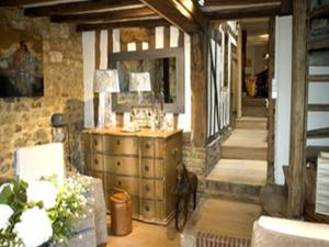 Au Grey d'Honfleur, Bed & Breakfasts  Honfleur - big - 12