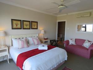 Rom Luxury med queen-size-seng og sjøutsikt