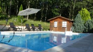 Sas Parc Lacoste, Holiday homes  Saint-Marcet - big - 8