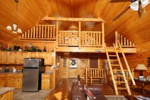 Howling Wolf - One Bedroom, Case vacanze  Sevierville - big - 11