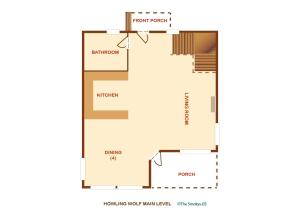 Howling Wolf - One Bedroom, Case vacanze  Sevierville - big - 26