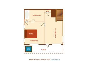 Howling Wolf - One Bedroom, Case vacanze  Sevierville - big - 27
