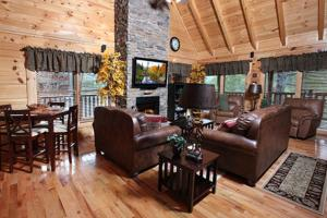 Blessed Nest - Four Bedroom, Holiday homes  Sevierville - big - 12