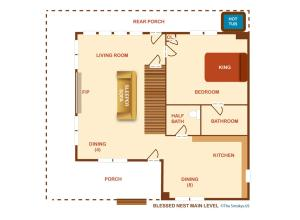 Blessed Nest - Four Bedroom, Prázdninové domy  Sevierville - big - 30
