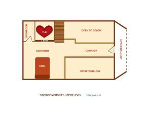 Fireside Memories - Two Bedroom, Nyaralók  Sevierville - big - 22