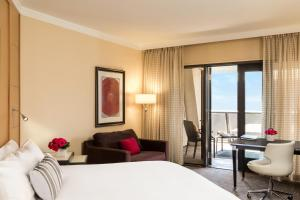 Suite Beverly com 1 Cama King-Size e Vista Avenida Beverly