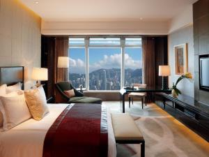 Deluxe Victoria Harbour Room with 1 King or 2 Double Beds