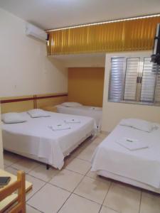 Hotel Makarena, Hotel  Três Corações - big - 5