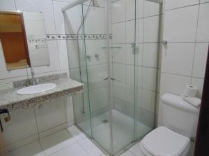 Hotel Makarena, Hotel  Três Corações - big - 6