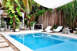 Residencia Gorila, Apartmanhotelek  Tulum - big - 73